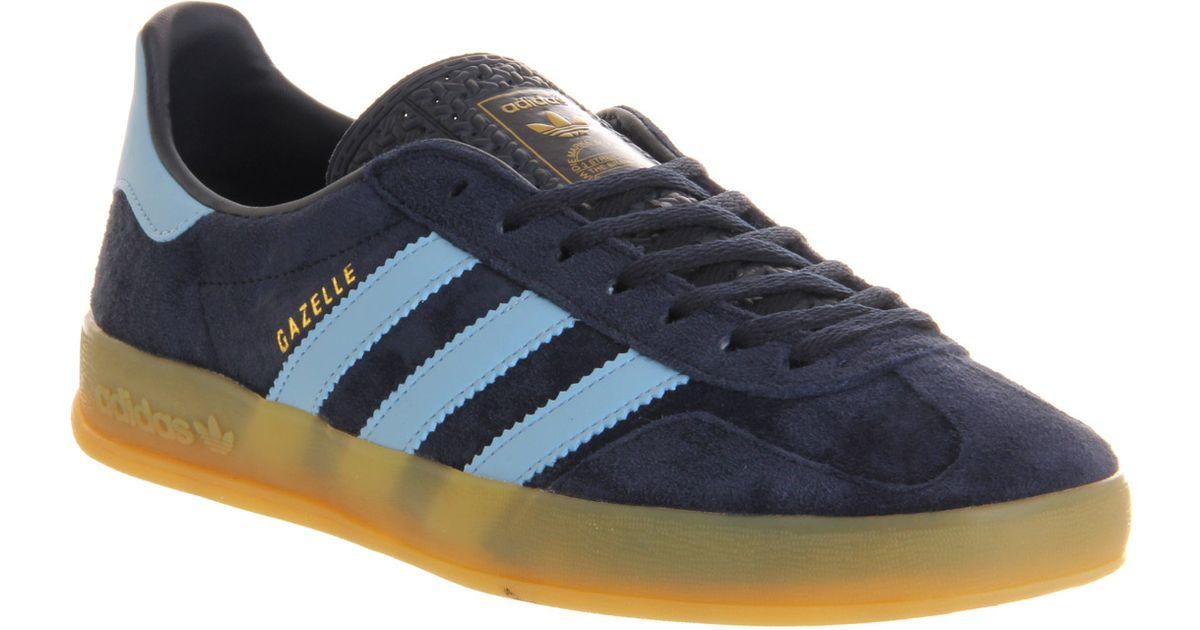 078609051b6 adidas Gazelle Indoor New Navy Argentina Blue in Blue for Men - Lyst