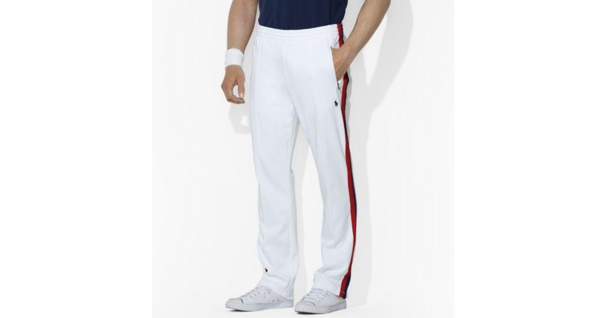 73db03e75f57 Lyst - Polo Ralph Lauren Interlock Track Pant in White for Men