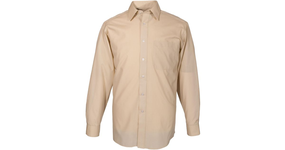Double two king size classic plain longsleeve shirt in for Plain yellow long sleeve t shirt