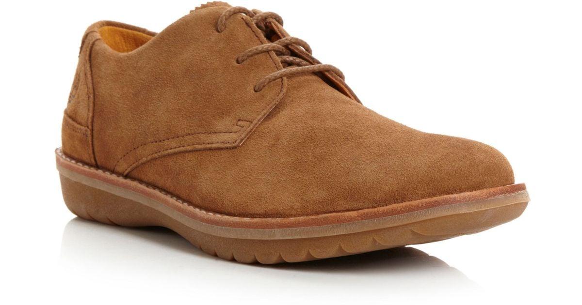 timberland suede desert shoes in brown for men lyst. Black Bedroom Furniture Sets. Home Design Ideas