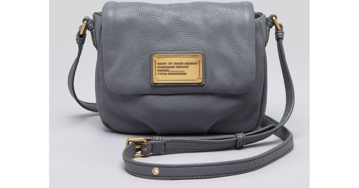 62adbefd3fdd Lyst - Marc By Marc Jacobs Crossbody Classic Q Isabelle in Gray