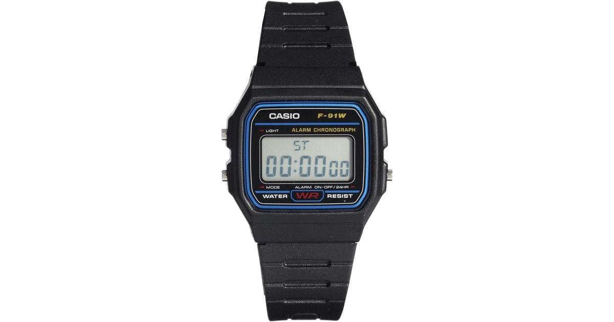 g shock classic digital f 91w 1xy in black for