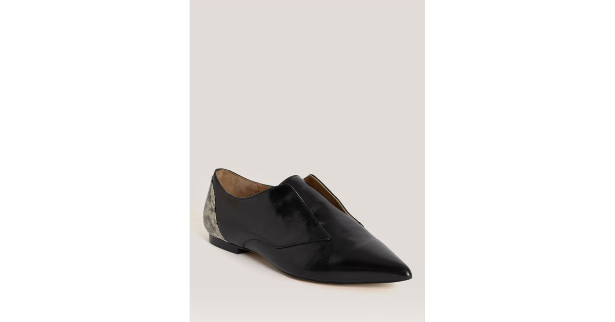 3.1 Phillip Lim Nancy Leather Oxfords outlet cheapest price Rzt8i2Ppg