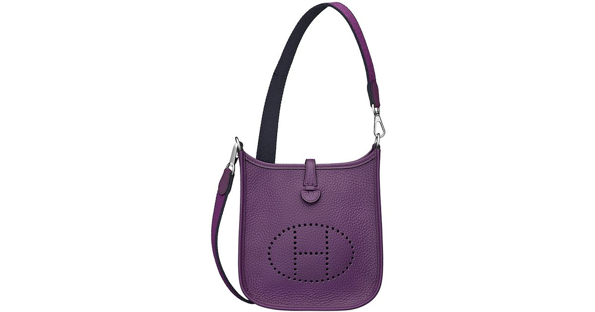 Herm¨¨s Evelyne Iii in Purple (gray) | Lyst