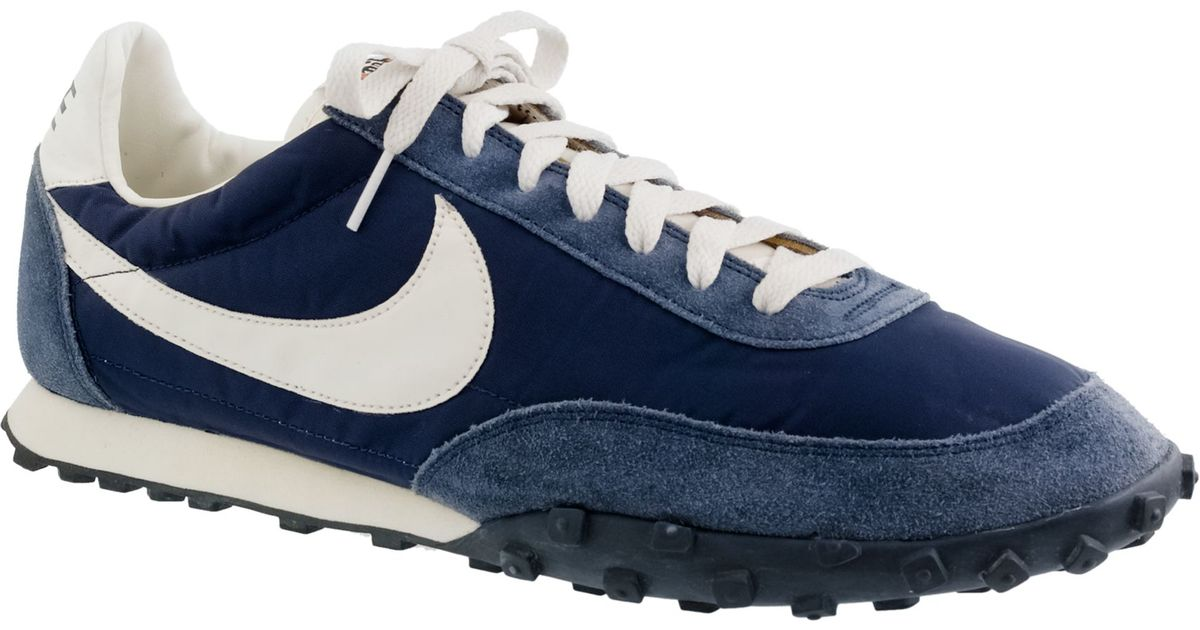 Nike Vintage Collection Waffle Racer Sneakers In Blue For