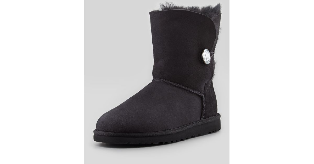 357a2bee08c Ugg Boots With Crystal Button