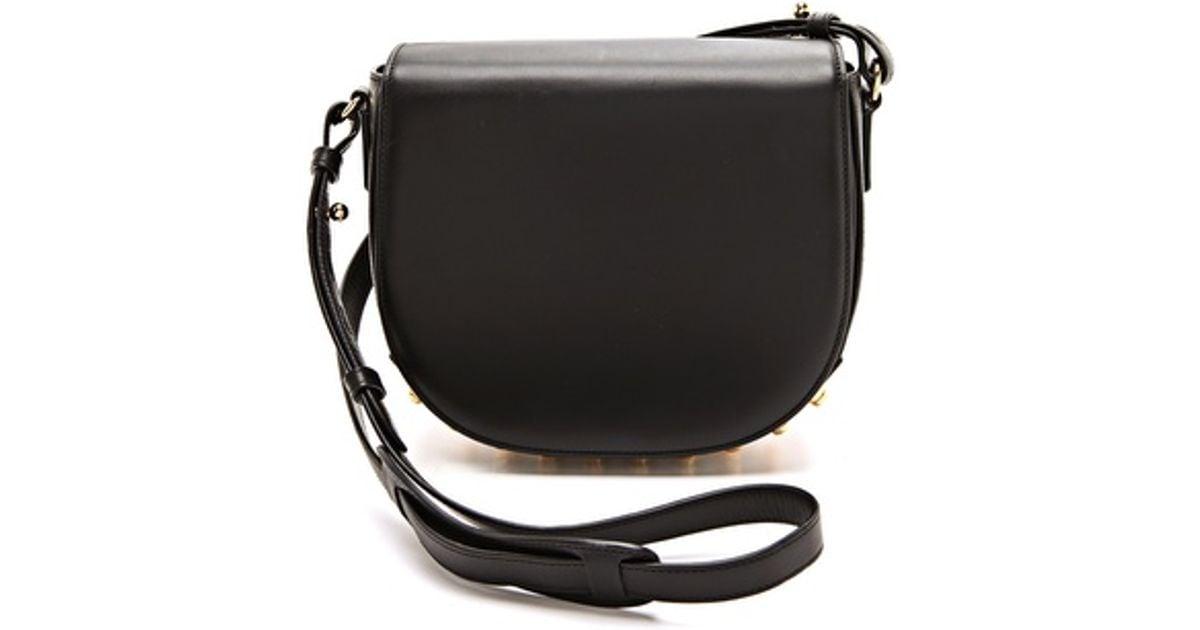 5194569abe Alexander Wang Small Lia Sling Bag in Black - Lyst