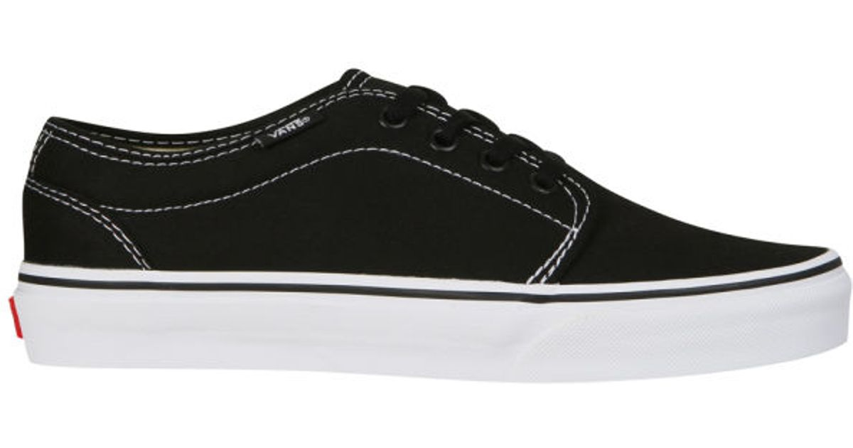 12472049dd Vans 106 Vulcanized Canvas Trainers in Black for Men - Lyst