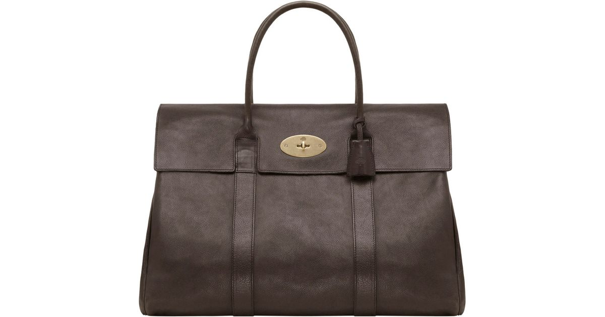 Mulberry Piccadilly in Brown - Lyst 9fbf2138cd4fb