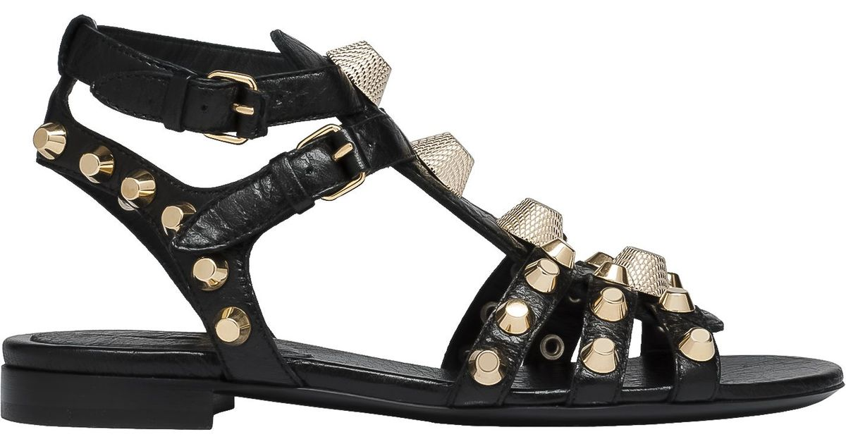 cheap sale low price fee shipping latest collections cheap price Balenciaga Giant gold sandals sale countdown package cheapest price footlocker Haa5n