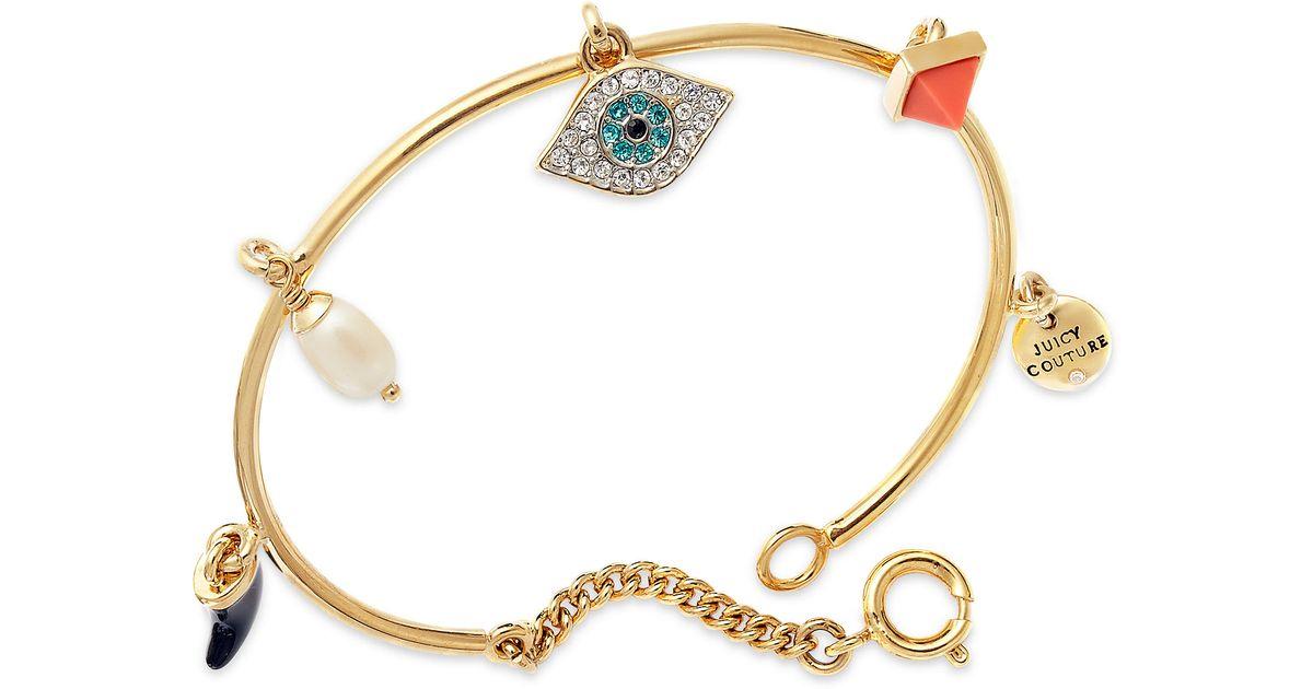 21edca3e504 ... juicy couture silver evil eye hamsa bracelet ...