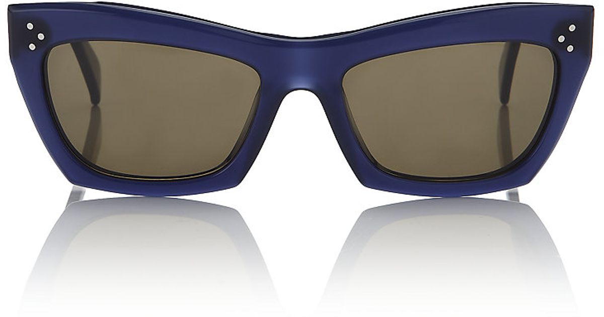 cce4aaf82f68 Céline Retro 50s Sunglasses in Gray - Lyst