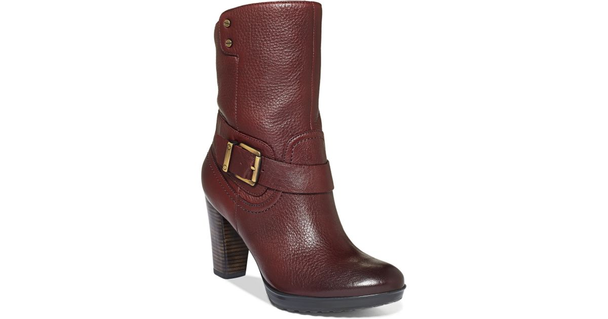 Clarks Red Artisan By Clarks Womens Boots Indigo Lida Sayer Booties