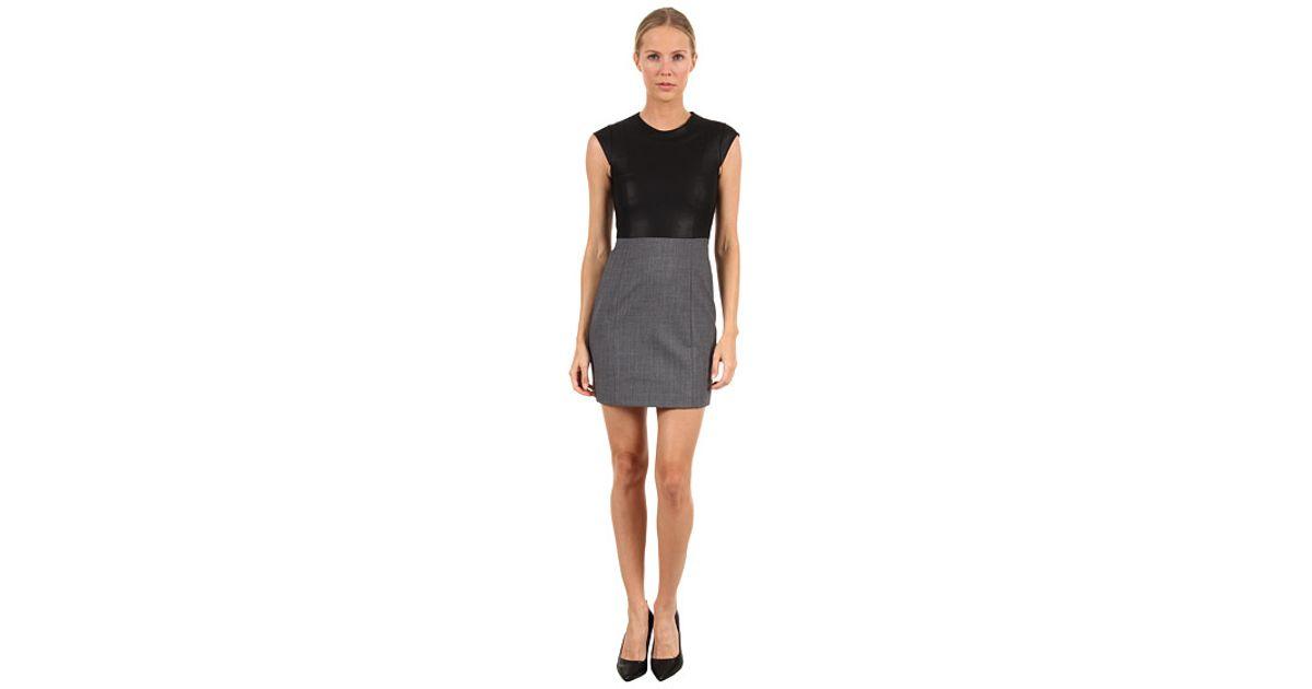 222d5eae84f Lyst - Theory Orinthia C Dress in Gray