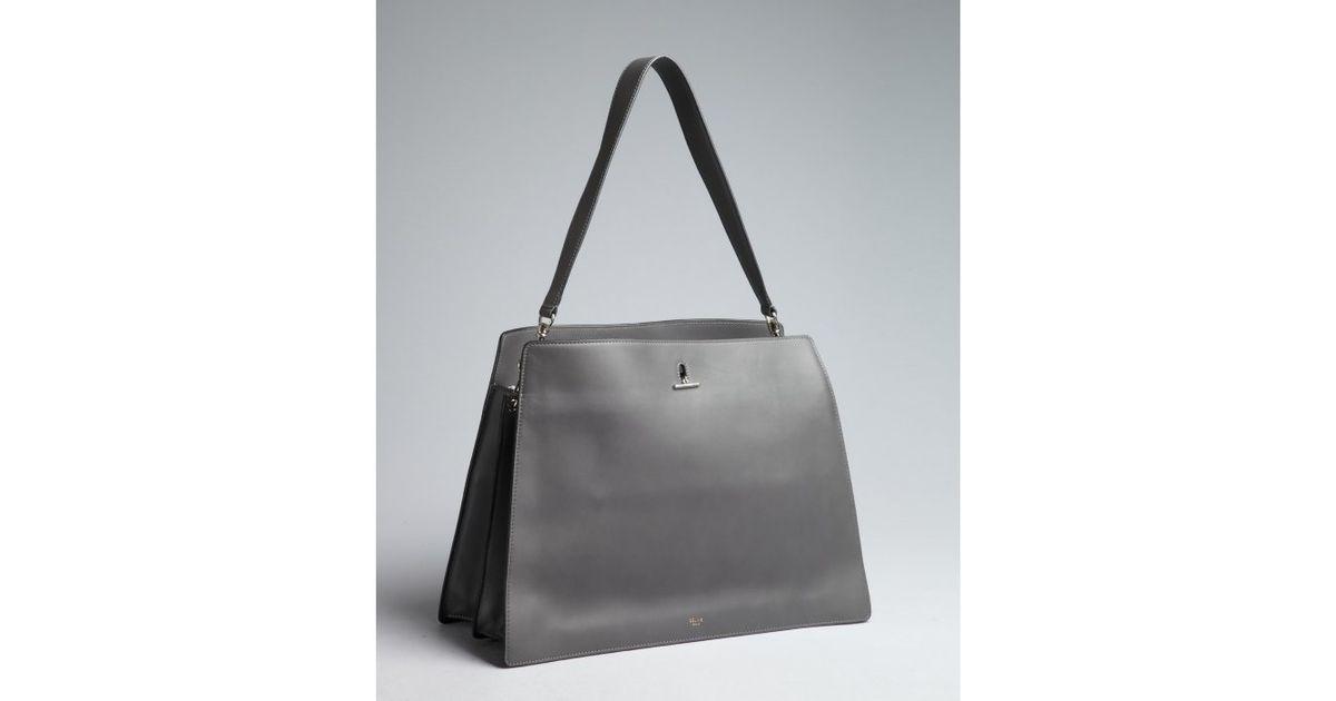 celine luggage tote handbags - celine perforated leather shoulder bag, original celine bags price