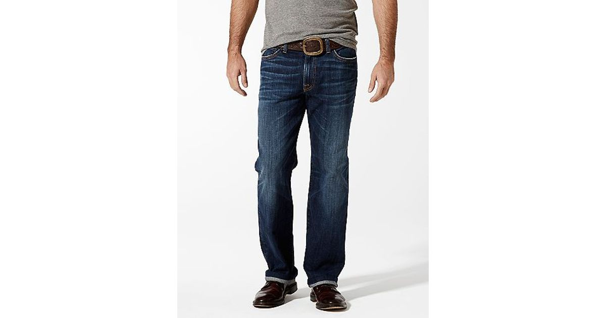 1683fbb3 Lyst - Lucky Brand Classic 363 New Vintage Straight Italian Super Soft in  Blue for Men