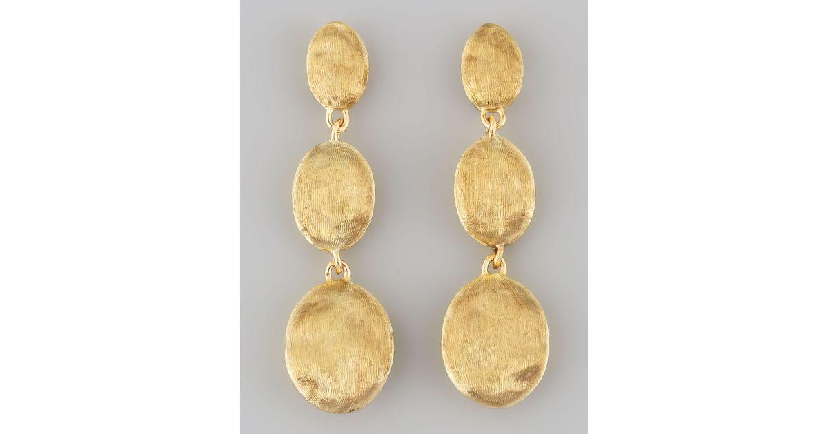 Marco Bicego Siviglia 18K Gold Drop Post Earrings gkN5gls9