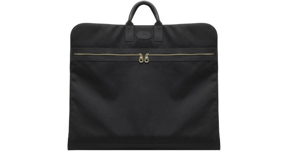 Mulberry Henry Suit Carrier in Black for Men - Lyst 06d3becafd4d6