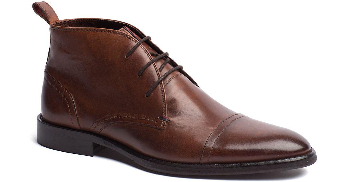 7af6e4f63ed27 Tommy Hilfiger Dalton Boot in Brown for Men - Lyst