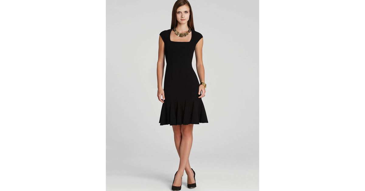 Lyst Bcbgmaxazria Dress Farrah In Black