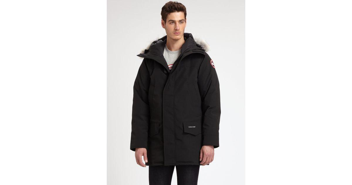 Canada Goose toronto replica official - Canada goose Langford Parka in Black for Men | Lyst