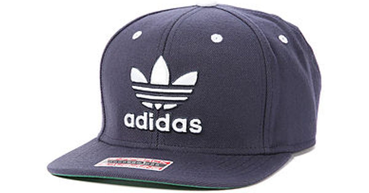 8a9d8a9c24c Lyst - adidas The Thrasher Snapback Cap in Blue for Men