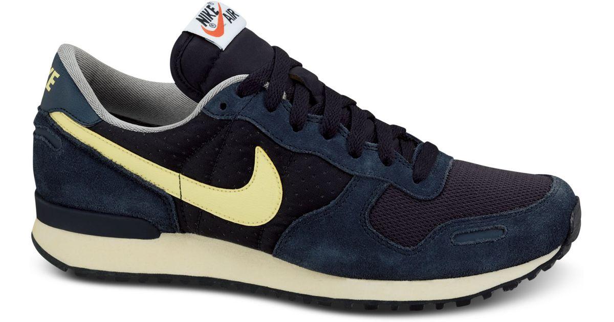 Lyst - Nike Air Vortex Vintage Sneakers in Blue for Men 13054d615
