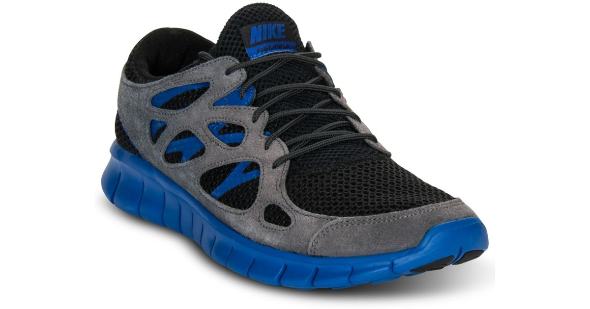 49eda3af8a73 Lyst - Nike Free Run 2 Ext Sneakers in Blue for Men