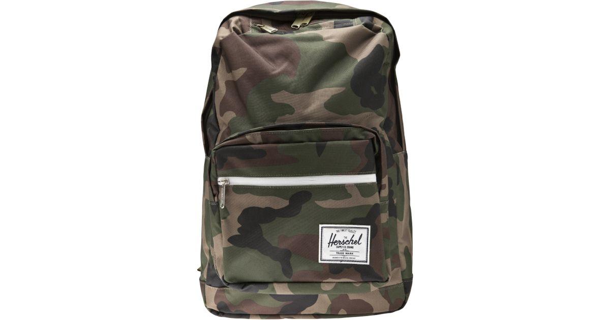 Lyst - Herschel Supply Co. Herschel Supply Co Pop Quiz Backpack in Green  for Men 2c4f6a56673c1