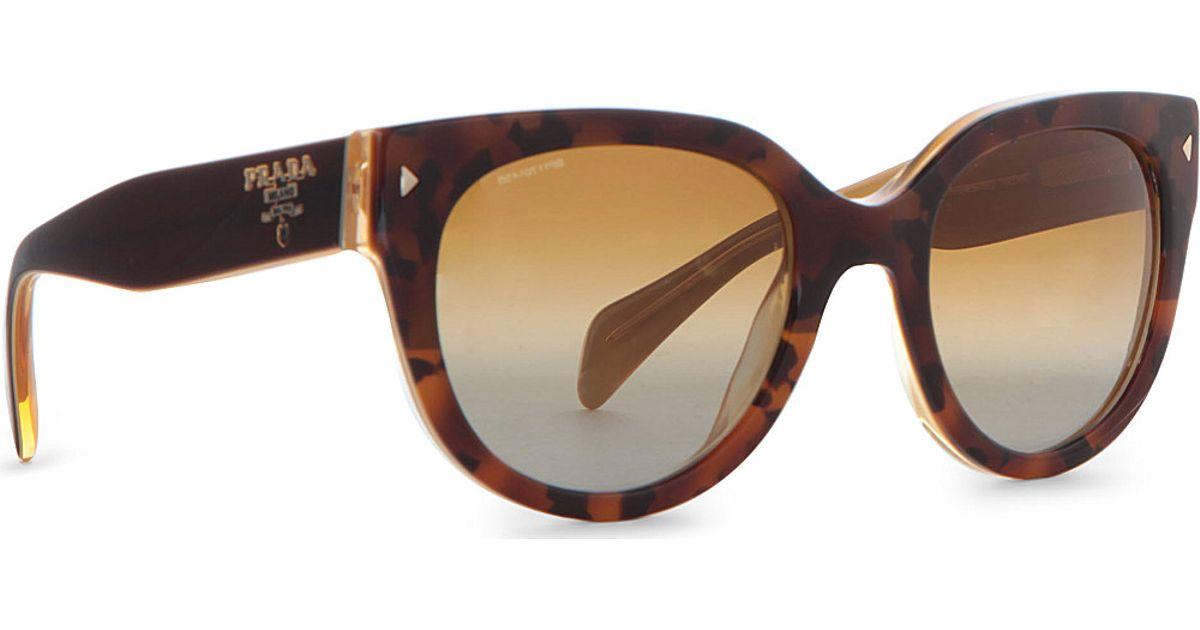 dd2bfc0a07 Prada Prada Vintage Style Tortoise Shell Sunglasses in Brown for Men - Lyst