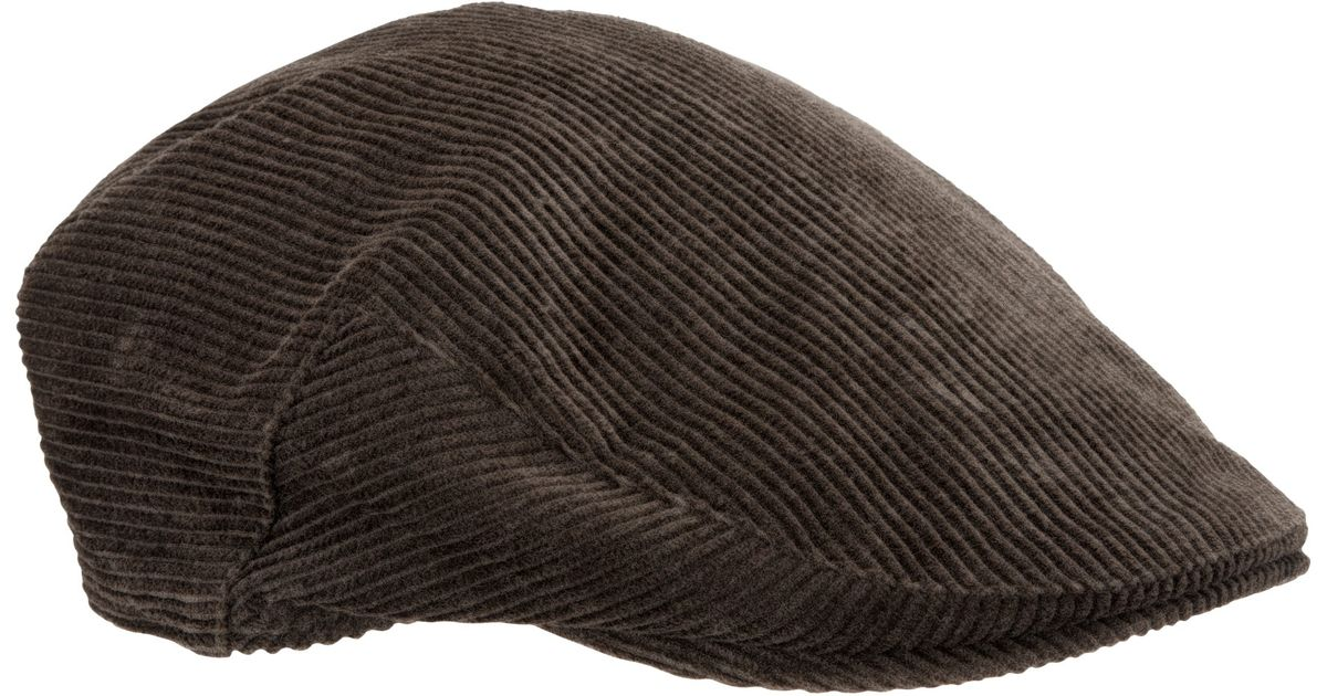 57d2931e819 Barbour Cord Cap in Brown for Men - Lyst