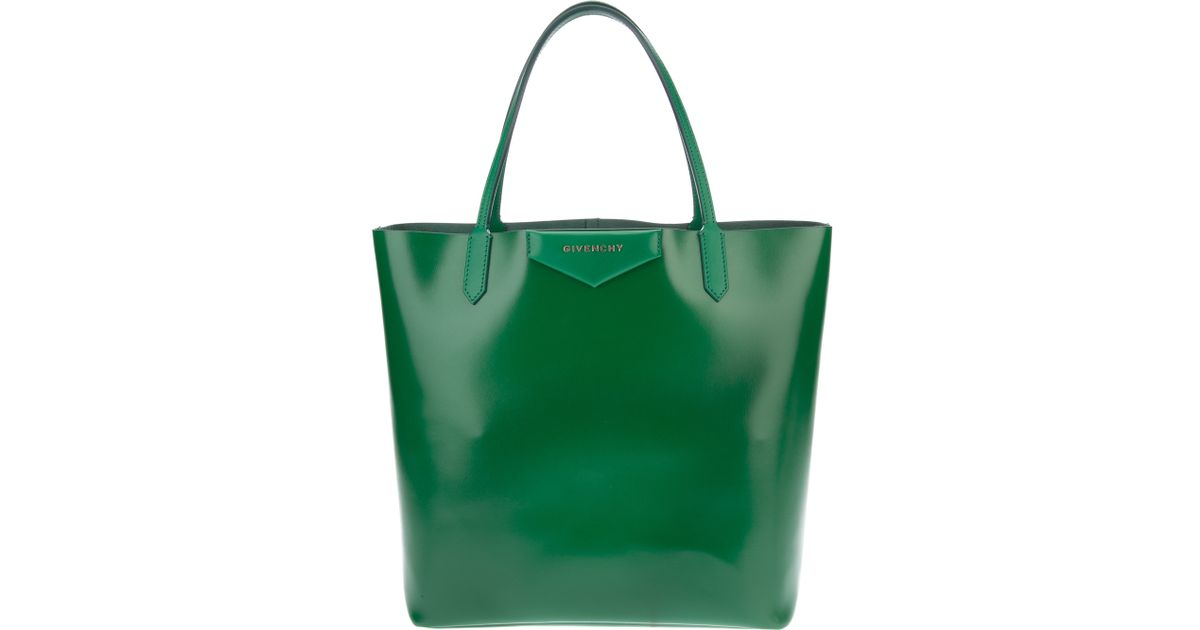 Lyst - Givenchy Antigona Large Shopping Tote in Green 1a098c073a