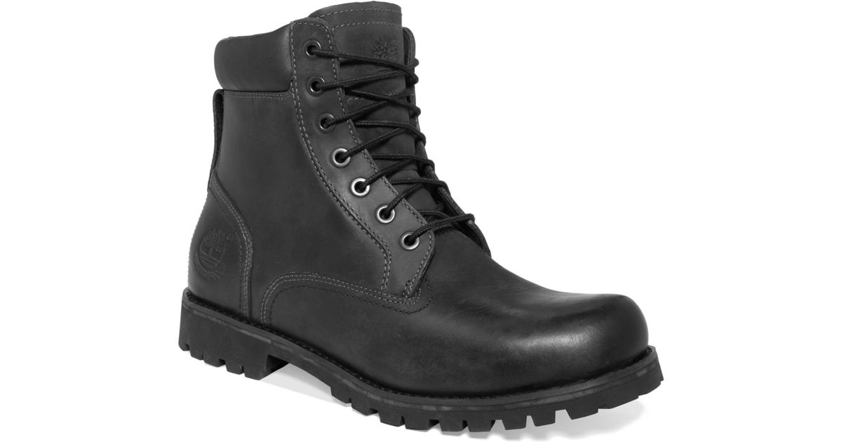 Lyst Timberland Earthkeepers Rugged 6 Waterproof Boots In Black For Men