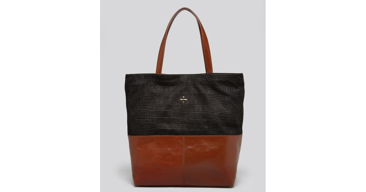849f04fd21 Lyst - Pour La Victoire Tote Maryse Two Tone in Brown