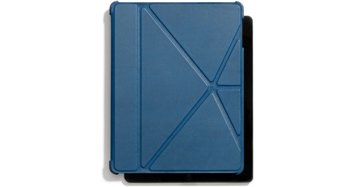 Lyst Coach Bleecker Leather Molded Origami Ipad Case In Blue For Men