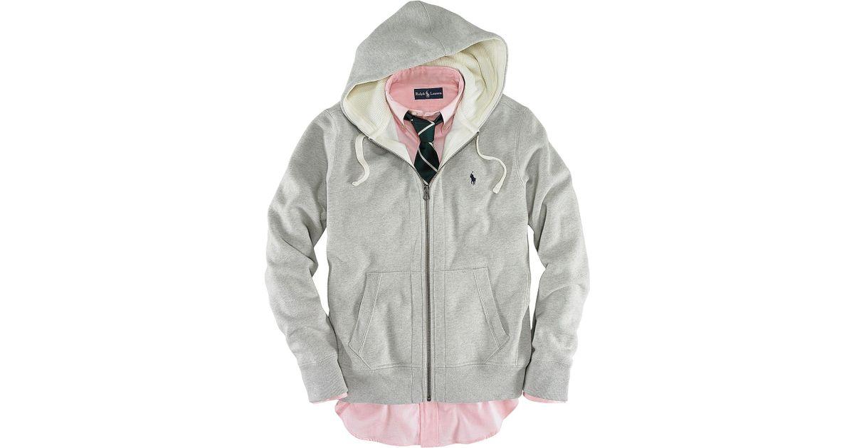 Ralph Lauren | Polo Full Zip Hooded Fleece | Lyst