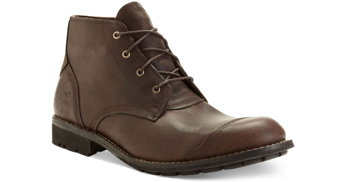 3017f217cfa Lyst - Timberland Earthkeepers City Keepers Premium Chukka Boots in Brown  for Men