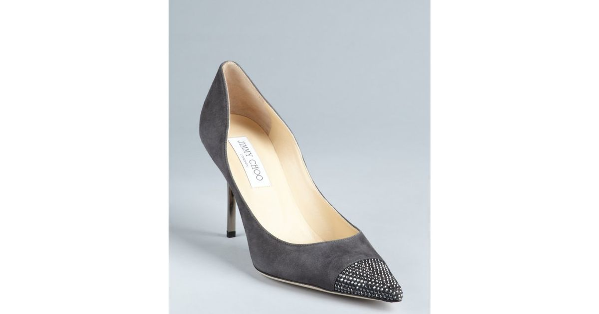 Jimmy Choo Alias Cap-Toe Pumps buy cheap the cheapest sale good selling nicekicks online cheap price top quality Manchester online hzKR6