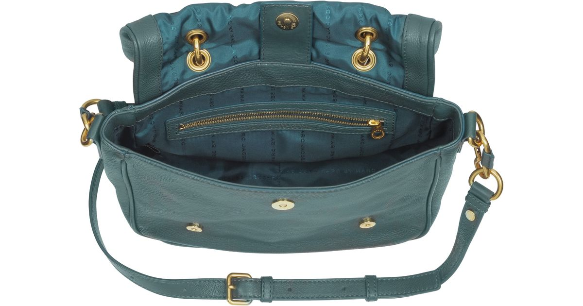 a2931a0d42b1 Lyst - Marc By Marc Jacobs Too Hot To Handle Small Flap Top Bag in Green