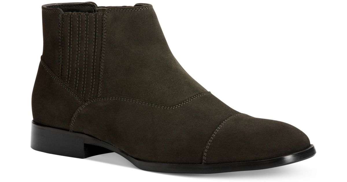 macys mens boots timberland green coyote