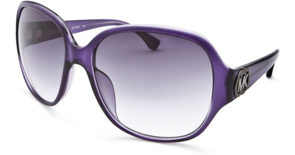 3e0cdfa7ce Michael Kors Salina Fashion Sunglasses in Purple - Lyst