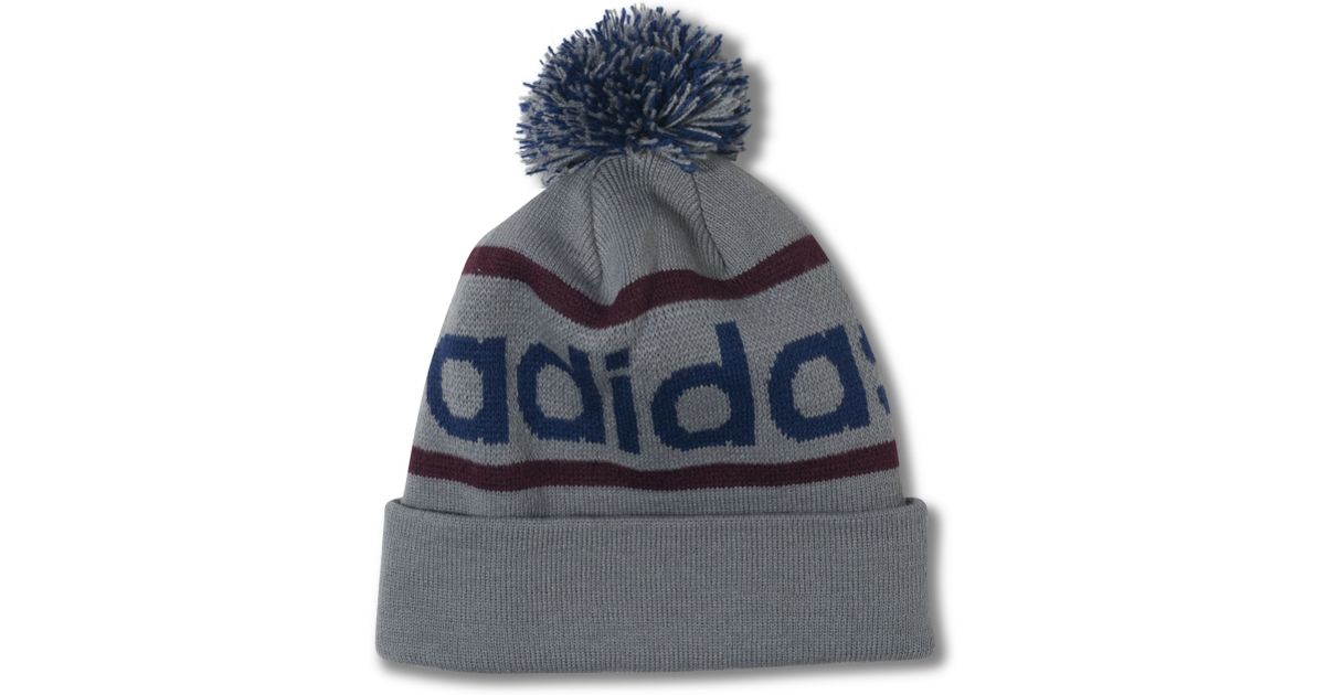 1ed0ccb6 Lyst - adidas Adi Originals Mercer Ballie Climawarm Pom Pom Hat in Gray for  Men