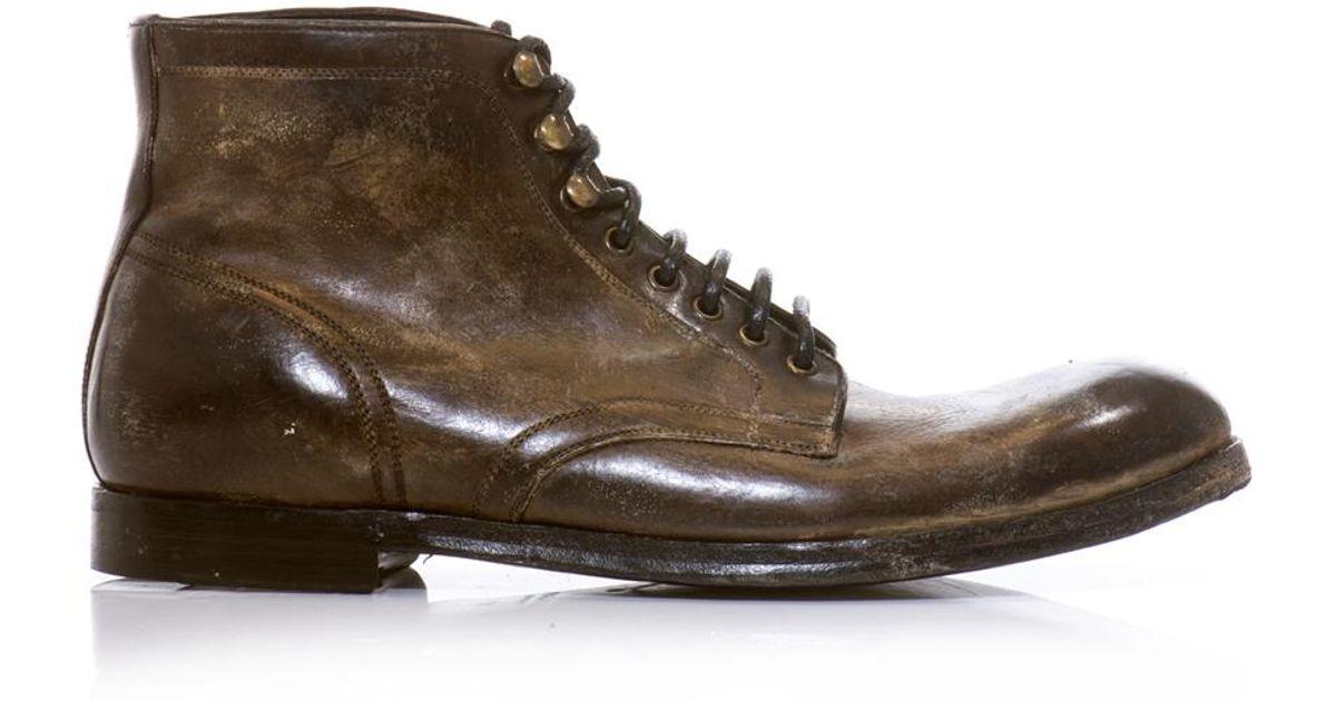 Dolce & Gabbana Leather Boots JxHTcd