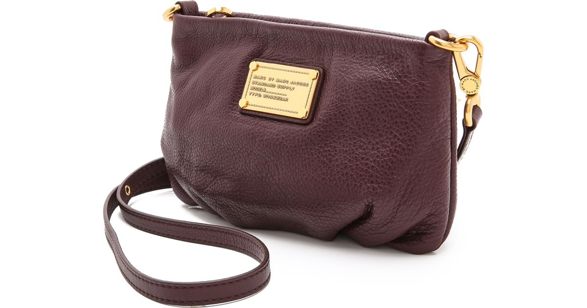 6db16379c965 Lyst - Marc By Marc Jacobs Classic Q Percy Cross Body Bag in Brown