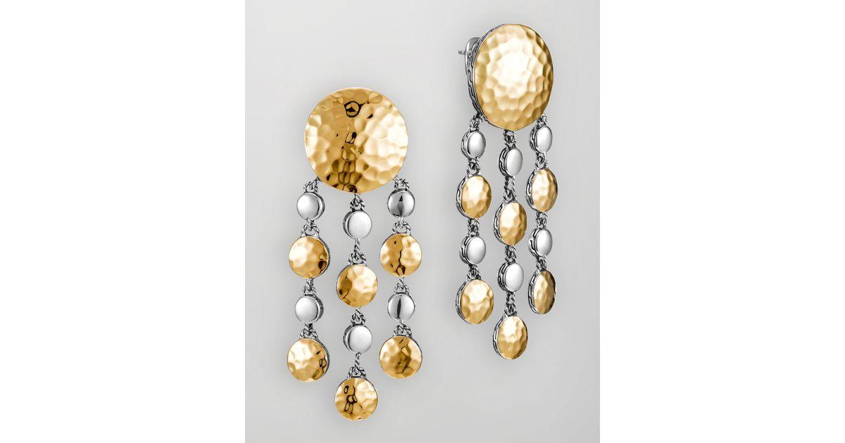 John Hardy Palu Bulan Chandelier Earrings 36Nr0bj