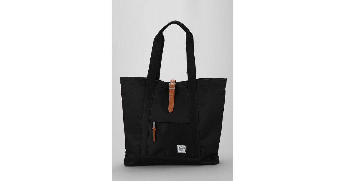 3d8b94ac7 Herschel Supply Co. Oversized Market Tote Bag in Black - Lyst