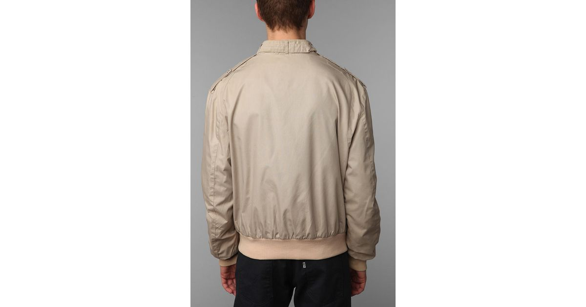 lyst urban outfitters urban renewal vintage members only jacket in