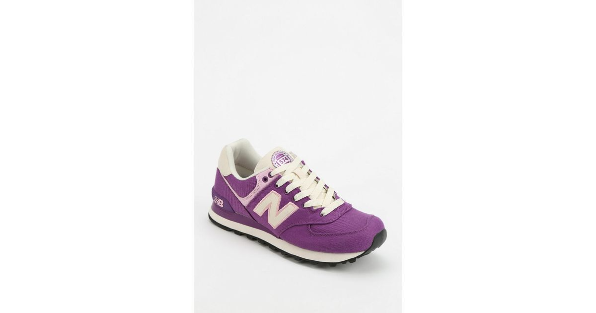 best cheap ac64c be4b3 Urban Outfitters - New Balance 574 Rugby Purple Running Sneaker - Lyst