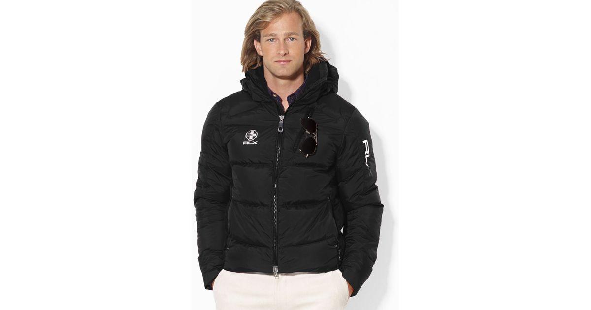 50167aa9 Lyst Ralph Lauren Polo Rlx Core Down Jacket In Black For Men