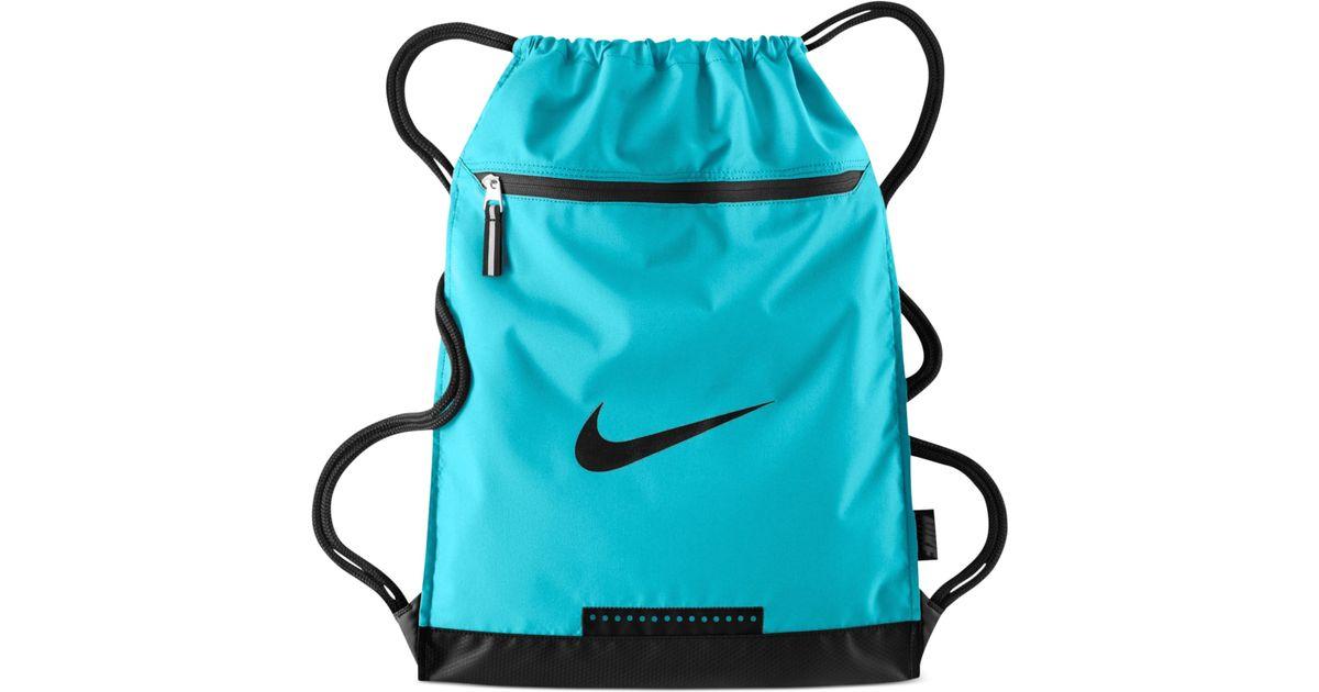 30ff8c912a Nike Team Training Gymsack Bag in Blue for Men - Lyst